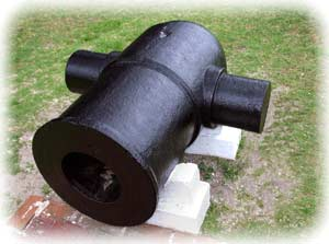 Modern image of a M.1819 10-inch mortar