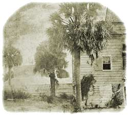 1858 Drawing of Sullivan's Island by the US Coast Survey