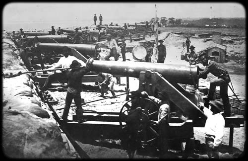 1861 Confederate Water Battery Warrington Florida Pensacola Bay