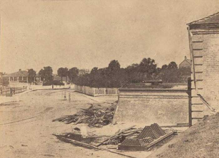 Harper's Weekly View of Fort Moultrie