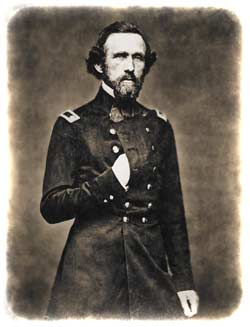 John G. Barnard, presumably photographed shortly after his promotion to Major in the peacetime U.S. Corps of Engineers on December 13, 1858. (U.S. National Archives)